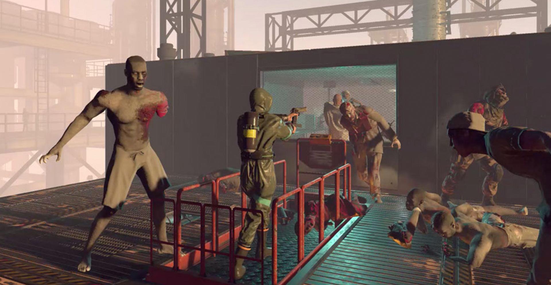 VR Zombies schieten